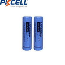 Литиевые аккумуляторы pkcell icr 18650 icr18650 37 в 3350 мАч