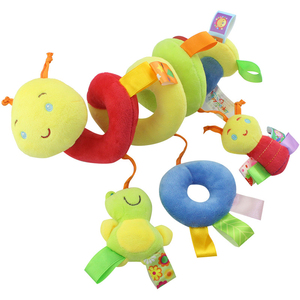 Image 5 - Newborn Baby Stroller Toys Lovely Snail Model Baby Bed Hanging Toys Educational Baby Rattle Toys WJ414