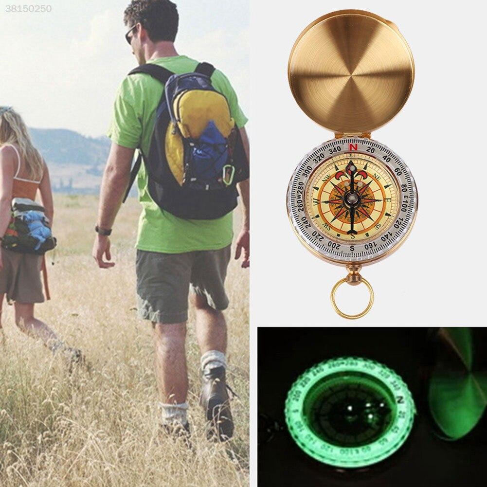 Карман часы флип компас переносной стол пеший туризм навигация световой в темноте навигация автомобиль компас брелок