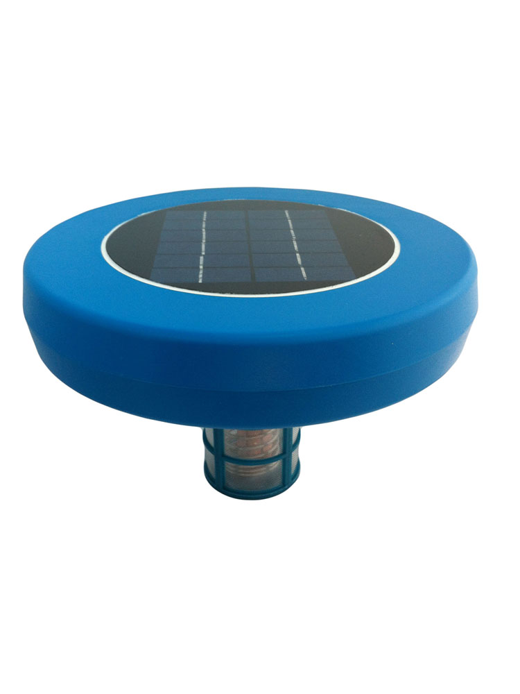 Solar Pool Ionizer Portable Purifier Eliminates Algae Bacteria UP To 32,000 Gal  Save $$$
