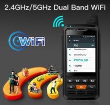 UNIWA هاتف خلوي لاسلكي F50 Zello PTT ، شاشة تعمل باللمس 2.8 بوصة ، بطارية 4000 مللي أمبير ، هاتف ذكي 4G LTE ، Android 6.0 ، رباعي النواة ، 2G ، 3G ، 4G