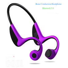 Headset Bluetooth 5.0  Z8 Wireless Headphones Bone Conduction Earphone Outdoor Sport Headset with Microphone Handsfree Headsets mix8 open ear bone conduction bluetooth v4 1 headset outdoor sports wireless bluetooth headset head mounted headphones