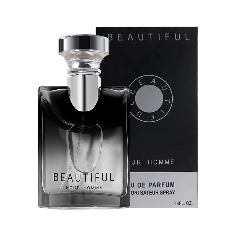 LANBENA 100ML Perfume For Men Long Lasting Fragrance Woody Notes Spray Glass Bottle Male Parfum Original Gentleman Atomizer 1