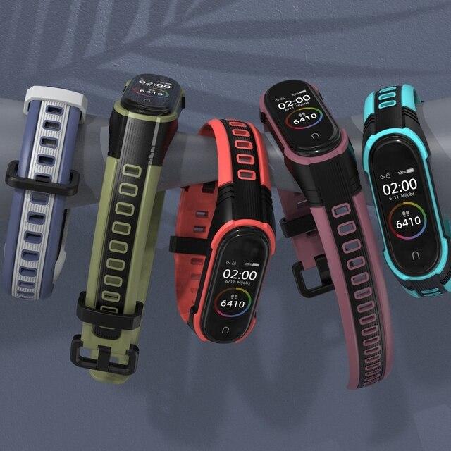Mi Band 4 Strap New Style X Strap For Xiaomi Mi Band 3 Sport Silicone Bracelet For Xiaomi Mi Band3 Smart Watch Bracelet 3