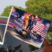 American election custom flag car window flag big election flag car flag American election flag 30cm * 45cm