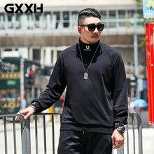 GXXH Новые мужские повседневные толстовки больших размеров, любые свитшоты, осенние толстовки, мужские, большие размеры, 3XL 4XL 5XL 6XL 7XL, брендовая одежда