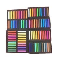 Pastel brushes / soft clay mud color blush pastel stick / art supplies / painting supplies/ drawing / kids art set|Crayons| |  -