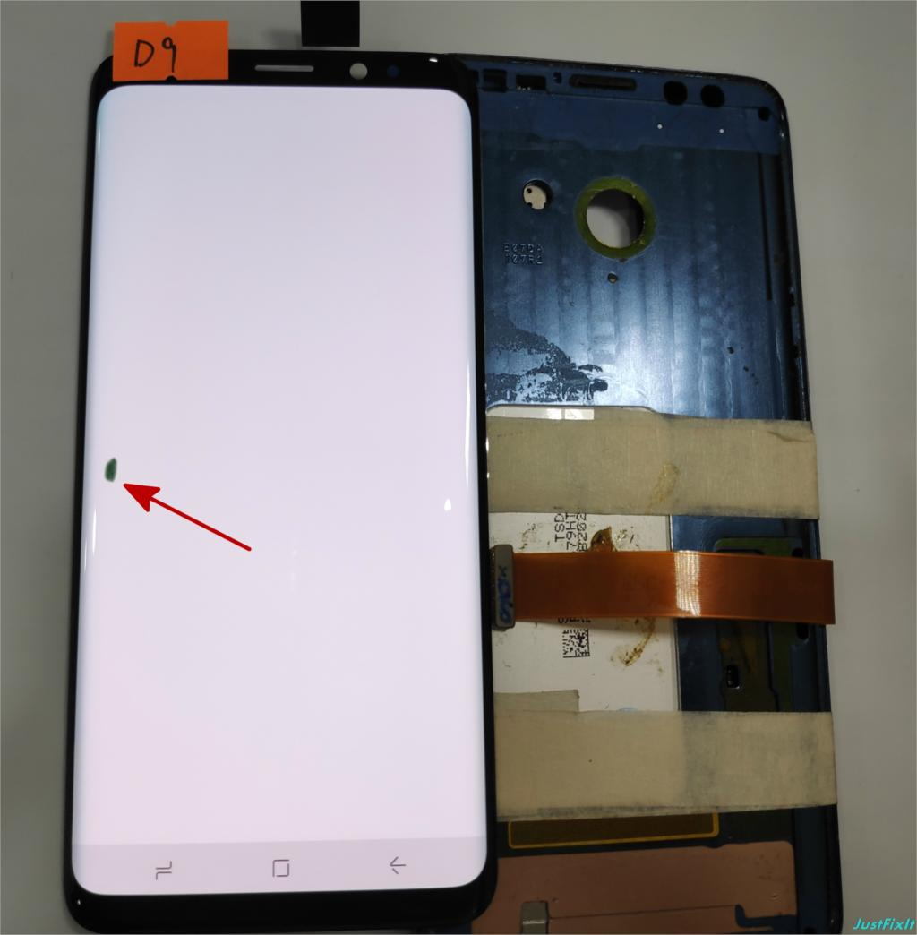 NO D9 For Samsung Galaxy S9 G960 G960F Defect Lcd Display With Touch Screen Digitizer Super