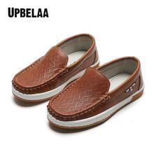 Buty skórzane dla dzieci buty ślubne dla chłopców moda dla dzieci czarne mokasyny ślubne chłopcy formalne mokasyny rozmiar butów 26-35 tanie tanio Upbelaa RUBBER Pasuje prawda na wymiar weź swój normalny rozmiar 10 t 11 t 12 t Skóra Mieszkanie z