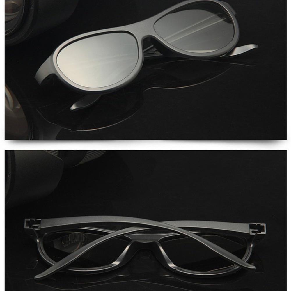 Circular Polarizing Passive Woman Man 3D Movie Glasses For 3D TV Cinemas High Quality Fashion