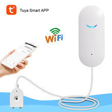 Tuya Smart Water Leakage Sensor WiFi Connection Water Immersion Detector APP Remote Protection Home Security Alarm System