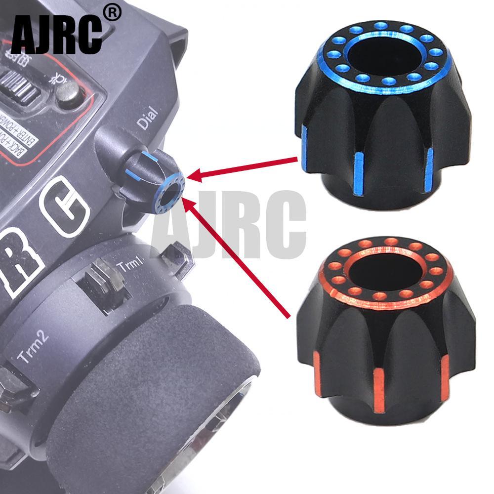 AJRC SANWA Remote Control M17 MT-44 Aluminum Alloy Rotary Adjustment Knob