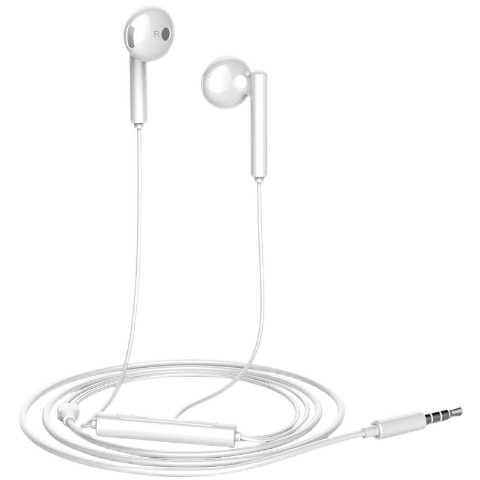 Oryginalny Huawei Honor AM115 słuchawki z 3.5mm w ucho zestaw słuchawkowy kontrola przewodowa dla Honor 8 Huawei P10 P9 P8 Mate9 telefon