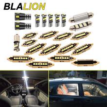 Super Bright 23pcs T10 LED Bulbs Canbus For Bmw E60 E90 F10 F30 Golf 4/7 Lamp 6000K White License Plate Lamp Dome Light No Error