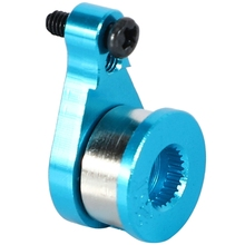 25T RC Car Steering Servo Arm Buffer Horn for 1:12 Wltoys 12428 12423 FY-03 Parts Accessories