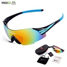 WOSAWE Cycling Polarized Sun Glasses Outdoor Sports Bicycle Glasses Men Women Bi