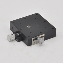 XY axis Suruga Seiki B08-111 XYEG60 manual precision displacement fine adjustment slide table optical dovetail slot platform