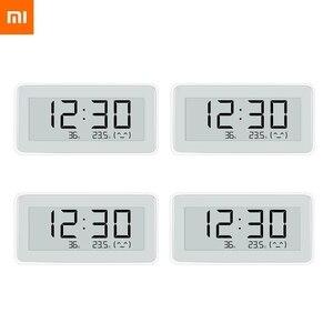 Image 2 - 2020NEW Xiaomi Mijia BT4.0 Wireless Smart Electric Digital clock Indoor Hygrometer Thermometer E ink Temperature Measuring Tools