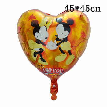 Giant Mickey Minnie Mouse Balloons Disney cartoon Foil Balloon Baby Shower Birthday Party Decorations Kids Classic Toys Gifts 36