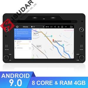 Image 1 - Isudar 1 Din Android 9 Automotivo Radio For Alfa/Romeo/Spider/Brera/159 Sportwagon Car Multimedia player GPS DVD Octa Core DSP