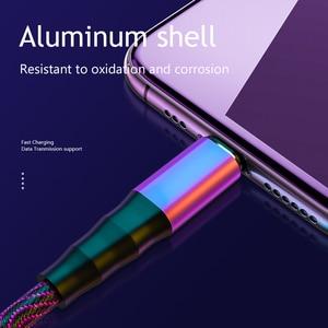Image 5 - Cáp Micro USB 5A Nylon Sạc Nhanh USB Loại C Cáp Samsung Huawei LG Máy Tính Bảng Di Động Android sạc Điện Thoại Dây