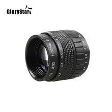GloryStar 50mm F1.4 objectif de télévision en circuit fermé + monture C + bague Macro pour Canon EOS EF EFS appareil photo reflex numérique 5D 6D 7D II III 70D 80D C-EOS