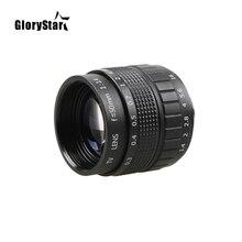 Glorystar 50 ミリメートル F1.4 cctv テレビ映画レンズ + c マウント + マクロキヤノン eos ef efs デジタル一眼レフカメラ 5D 6D 7D ii iii 70D 80D C EOS