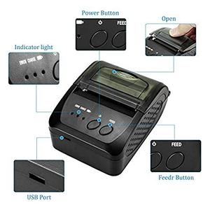 Image 5 - NETUM 1809DD Portable 58mm Bluetooth Thermal Receipt Printer Support Android /IOS  for POS System