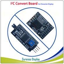 Последовательный модуль платы преобразования IIC / I2C / TWI для 0802 1601 1602 2002 4002 1604 2004 символьный ЖК-модуль для Arduino
