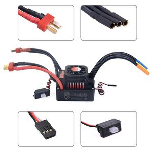 Image 3 - Waterproof Brushless Senseless Speed Controller 45A 60A 80A 120A 150A ESC for 1/8 1/10 1/12 1/20  RC Car