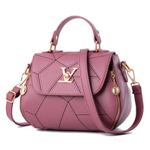 2019 moda mujer geometría pequeño estilo V sillín de lujo bolsos Crossbody mujeres bolso marcas famosas Messenger Bags Designer Louis