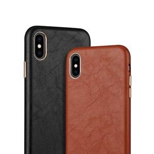 Image 2 - Lambskin all inclusive pokrowiec na tył do iPhone Xs Max XR 11Pro max 7 8 Plus ckhb 13v metalowy guzik luksusowe skórzane etui