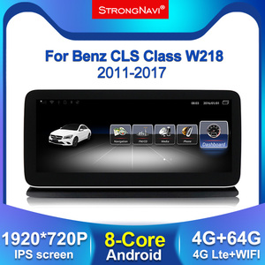 12.5 inch IPS 1920*720 Android 8Core Car DVD Multimedia Player For Mercedes Benz CLS Class W218 2011-2017 With GPS BT WIFI 4G