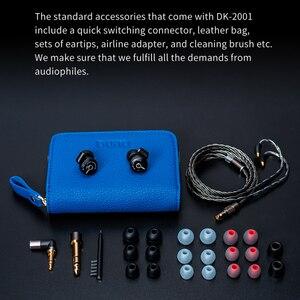 Image 5 - Dunu DK2001高解像度3BA + 1DDハイブリッドドライバin 耳イヤホンiem mmcx自己ロッククイック可変プラグdk 2001 DK 2001