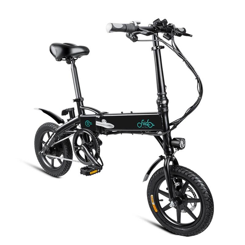 FIIDO D1 Mini Electric Bicycle Dual Disc Brake...