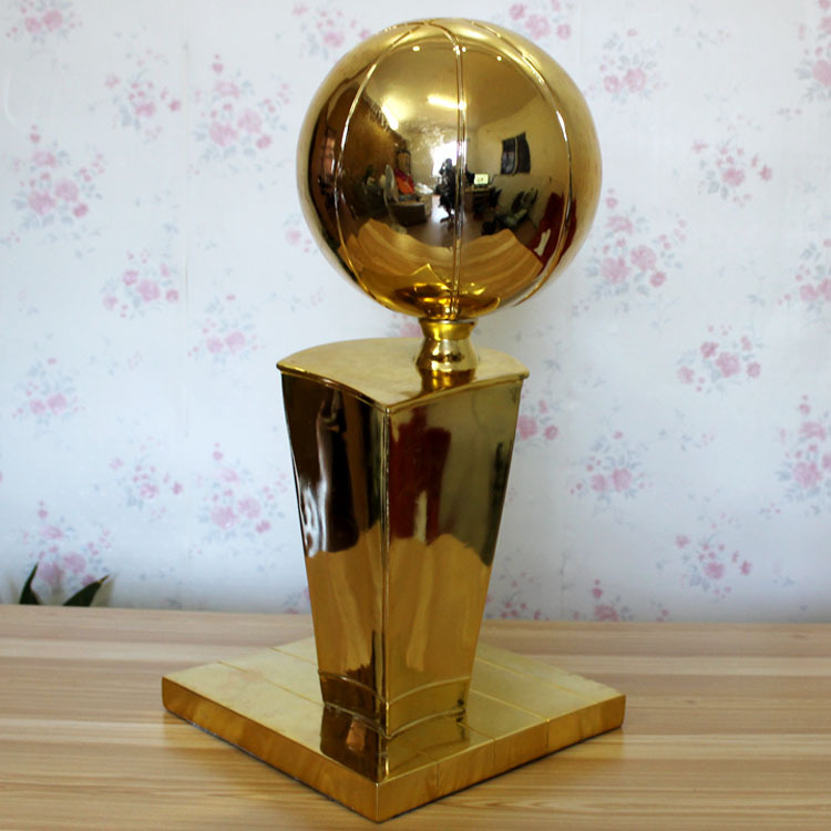 Larry OBrien Championship Trophy USA O'brian Cup 2016 Basketball Trophy Cup Fans Souvenir Basketball Trophy Cup