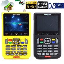 цена на DVB-S2/S2 V8 Finder Digital Satellite Finder Meter SatFinder Full HD FTA 3.5inch LCD for Satellite Receiver Receptor