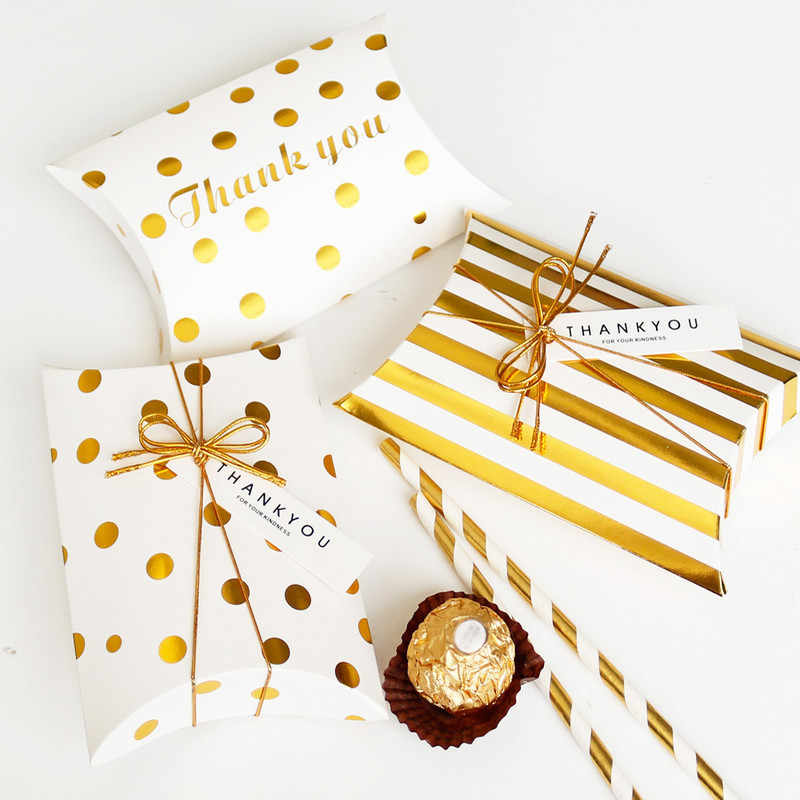 10pcs jewelry box contenitore di Regalo Scatola di Forma Cuscino Di Compleanno di Imballaggio Scatole di Partito Dolce Scatole di Caramella di Favore di Cerimonia Nuziale Cuscino Biscotti Candy box