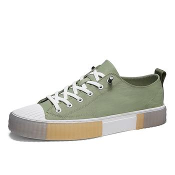Summer Men Canvas Shoes Sneakers Fashion Style Flat Bottom Leisure Shoe Youth Trend Breathable Men #8217 s Cloth Tide Shoes tanie i dobre opinie MINUSIKE Płótno RUBBER Lace-up Pasuje prawda na wymiar weź swój normalny rozmiar Podstawowe Lato 4111511 Stałe Oddychająca