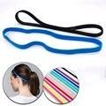 Модные женские мужские ленты для волос для йоги тонкая спортивная повязка на голову для девушек Спортивная Нескользящая повязка на голову ...
