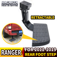 To Fit 2012 2019 Ford Ranger Retractable Back Rear Foot Step T Step BedStep tailgate foot board bar