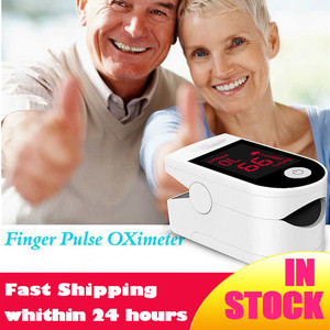 Blood Oxygen Monitor Finger Pulse Oximeter Oxygen Saturation Monitor Fast Shipping within 24hours (without Battery)(China)