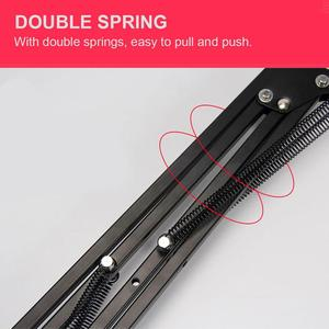 Image 4 - Soporte plegable para teléfono móvil, brazos largos giratorios, ajustable, 360, para cama de escritorio, perezoso, para iphone y tableta