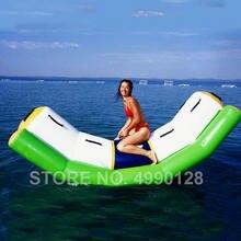 Бесплатная доставка 3x12x12 м надувные качели для игры в воде
