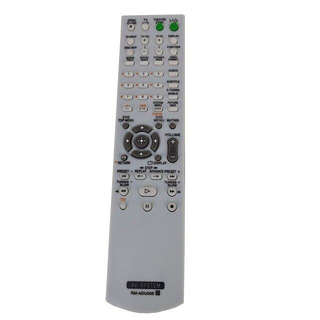 חדש החלפת RM ADU005 עבור SONY AV SYSETM שלט רחוק DAV DZ630 HCD DZ630 DAV HDX265 DAV HDX285 DAV HDX274 Fernbedienung