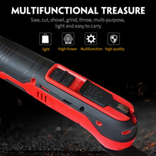 Renovator-Tool Trimmer Oscillating Electric-Saw DIY Multi-Function