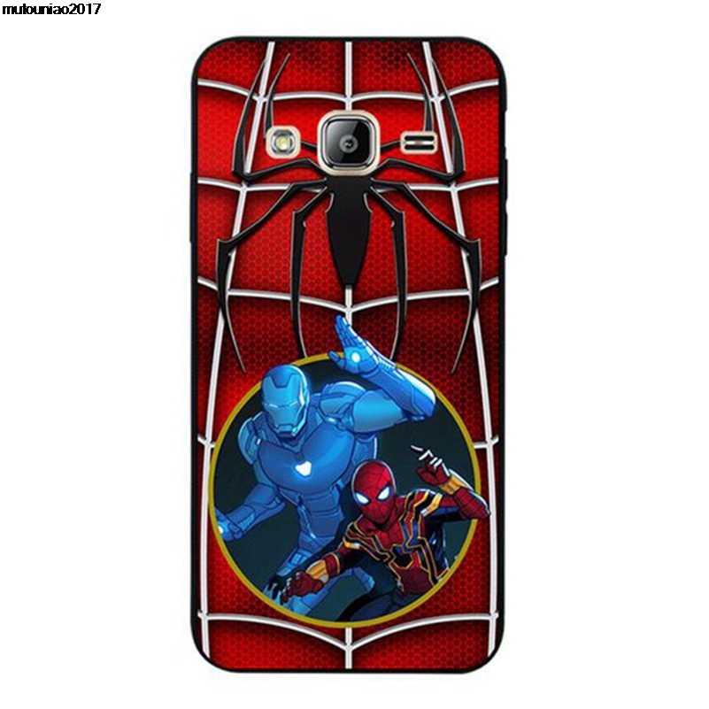 Mutouniao Spiderman 6 souple pour Pixel 2 3 XL housse pour Wiko Harry Sunny 2 pulpe FAB 4G vue XL