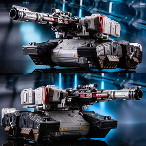 Image 5 - 변환 G1 BPF BPF 02 KO Galvatron Megotroun Mgtron SIEGE 시리즈 탱크 모드 액션 피규어 로봇 수집 완구
