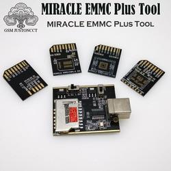 2019 NEUE URSPRÜNGLICHE MIRACLE eMMC Plus Werkzeug/Wunder eMMC adapter 5 IN 1 für Bga 153,221,254 platte