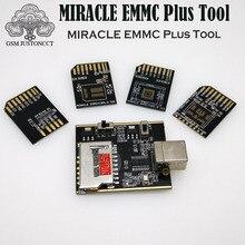 2019 nowy oryginalny cud eMMC Plus narzędzie/cud eMMC adapter 5 w 1 dla Bga 153,221,254 płyta